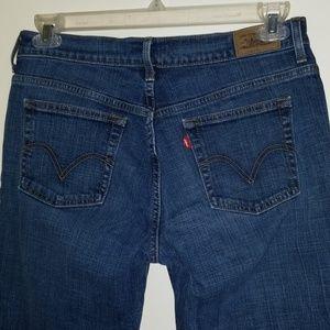 Levis 505 Straight Cut Jeans